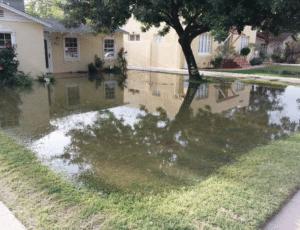water damage property